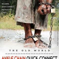 Old World Ankle Chain Quick-Connect